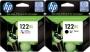 HP 122XL CH563HE black + 122XL CH564HE color (C-M-Y)